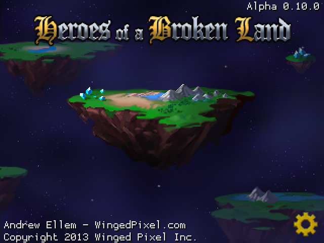 Heroes of a Broken Land Alpha 0.10.0
